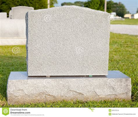 blank tombstone stock images image 26137514
