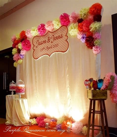 Wedding Backdrop Malaysia by Wedding Decoration Rental Malaysia Image Collections