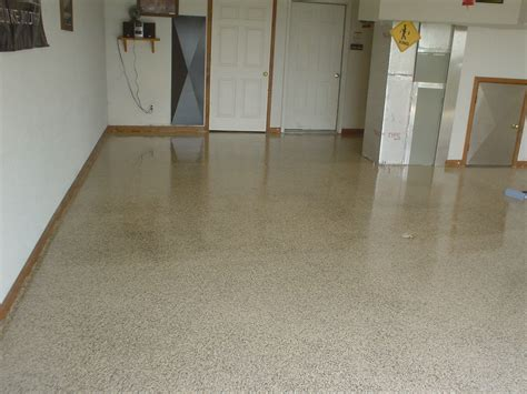 vinyl flooring with vinyl chip epoxy floor epoxy garage