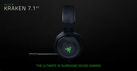 Razer O War 7 1 Green Surround Gaming razer kraken 7 1 v2 pc headset review