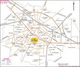 jalandhar city map india in maps