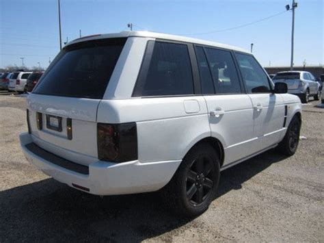 white land rover black rims purchase used 2005 white land rover range rover black