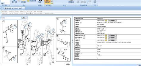 沃尔沃配件目录维修手册volvo prosis 2015 parts repair软管信息 mercedes