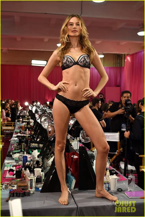 Backstage At The Victorias Secret Fashion Show Models In Baby by Kendall Jenner Gets Ready Backstage For S Secret