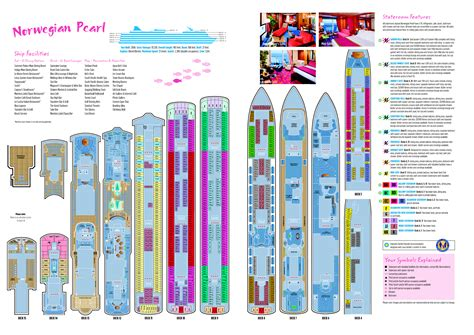 norwegian jewel floor plan deck plans norwegian escape deck design and ideas