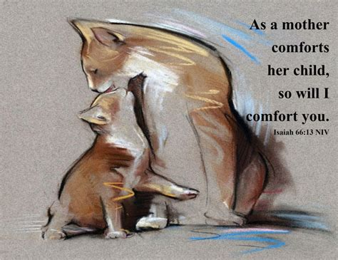i will comfort you isaiah 66 13 i love pinterest kittens psalms and heart
