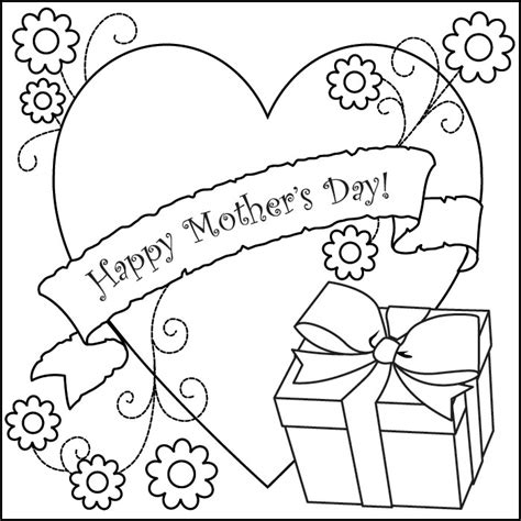 Mother S Day Coloring Pages For Kids Free Coloring Pages Day Coloring Pages