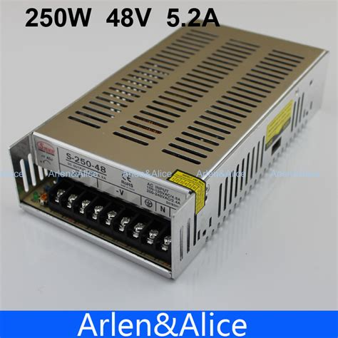 Switching Power Supply Suply 48v 4 2a 4 5a Murah Kuwalitas Bagus aliexpress buy 250w 48v 5 2a single output switching