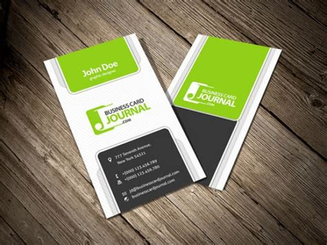 horizontal business card template four vertical business card template psd file free