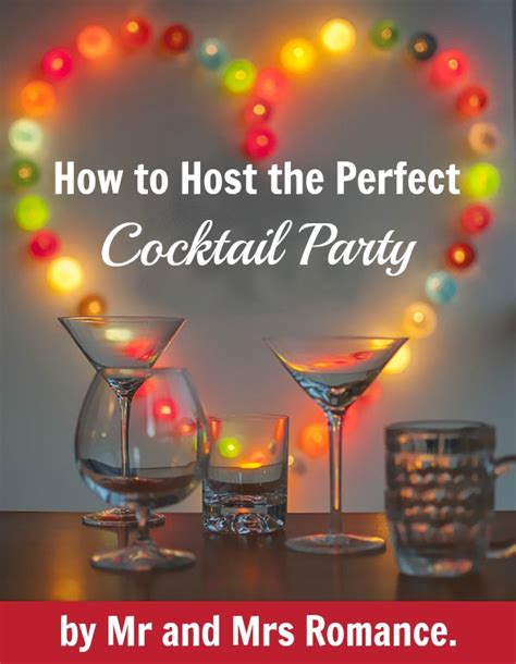 how to host a cocktail party the mr and mrs romance cocktail book mr and mrs romancemr and mrs romance