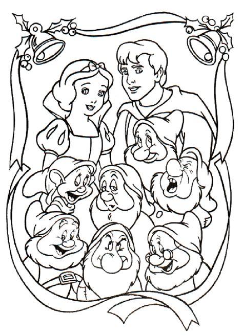 snow white color page az coloring pages
