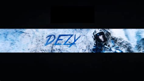 graphic design youtube banner frost themed youtube banner design