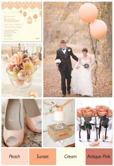 1000 ideas about peach wedding theme on pinterest peach peach and cream wedding theme 001 wedding pinterest