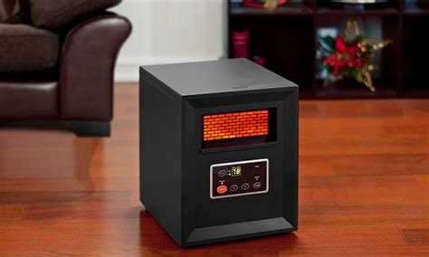 comfort zone therapeutic infrared heater comfort zone 1 000 watt infrared heater groupon