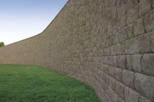 large wall anchor diamond pro stone cut 174 retaining wall large