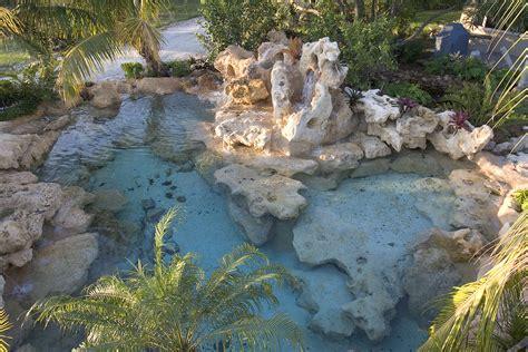 backyard lagoon natural limestone blue lagoon lucas lagoons