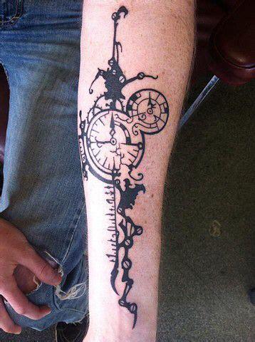 biomechanical tattoo san diego clock gears tattoo tattoo ideas pinterest gear