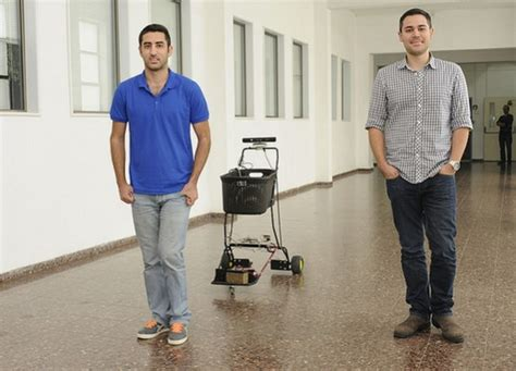 Shopping Just Got Easier by Shopping Just Got Easier Robotic Cart That Obediently