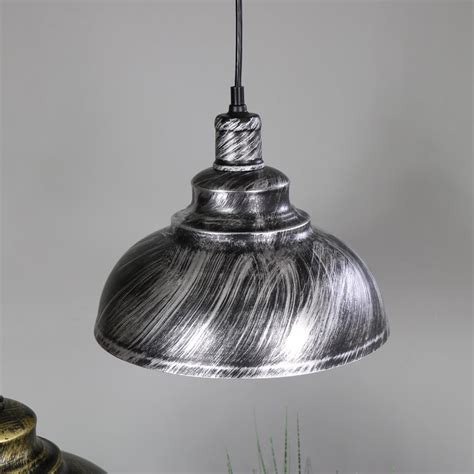 industrial dome pendant light stylish industrial silver dome ceiling pendant light
