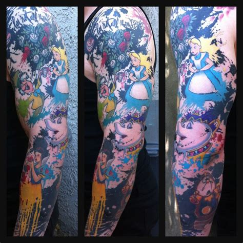 disney sleeve designs ideas and meaning tattoos
