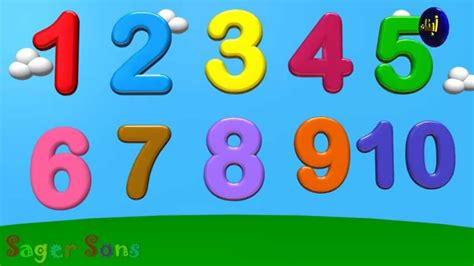 one to ten and cartoon numbers 1 10 www imgkid com the image kid has it