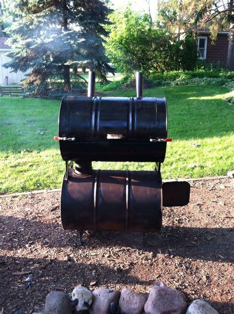 Handmade Pits - barrel smoker cing
