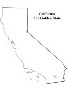 Blank Map Of California by Gallery For Gt California Map Outline Blank