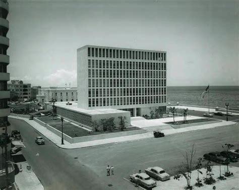 Mid Century Architecture ad classics united states embassy in havana harrison