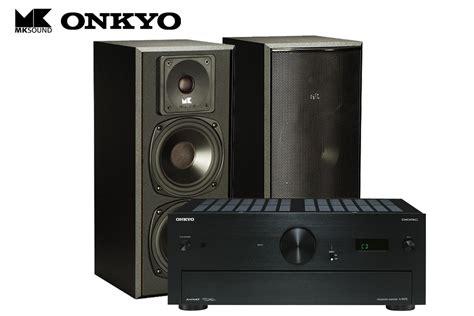 mk sound lcr front speaker  onkyo   audiophile