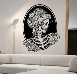 day of the dead vinyl wall decal sticker decor