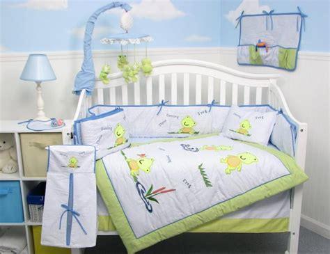 Frog Baby Bedding Crib Sets Frogs Baby Infant Crib Nursery Bedding Set 15pc