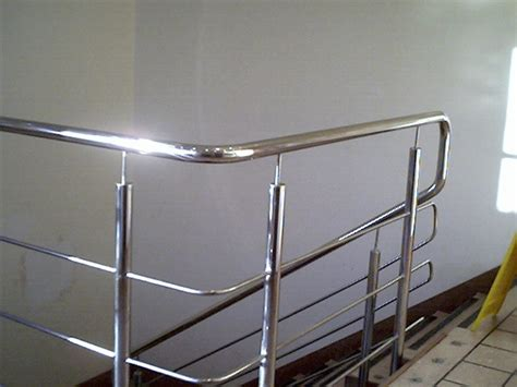 Stainless Steel Banister Custom Handrails And Custom Railings Sheet Metal Fort
