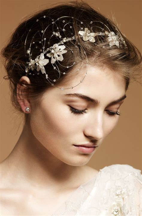 Wedding Hair With Accessories by 9 Heavenly Wedding Headdresses By Packham Onewed