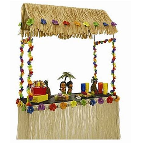 table top tiki bar hut tabletop tiki hut tiki gilligan s island party pinterest