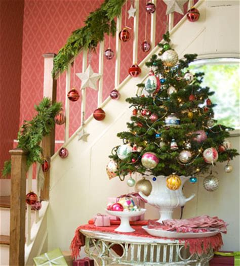 stair railing christmas ideas a whole bunch of staircase decorating ideas style estate