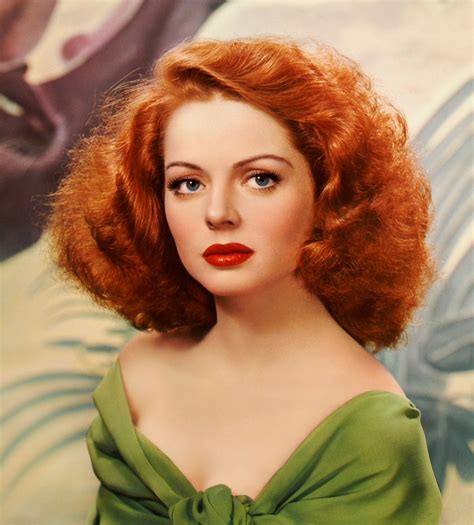 red head actress from 1940s 1940s makeup