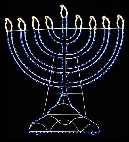 Hanukkah Outdoor Decorations Lights The Best Chanukah Decorations Infobarrel