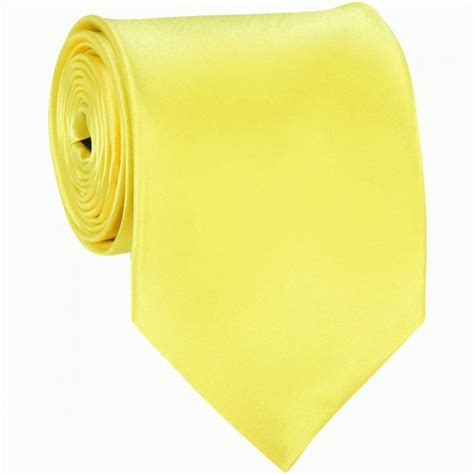 solid color neckties yellow solid color ties mens neckties