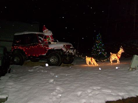 christmas jeep decorations christmas jeep jeep cherokee forum