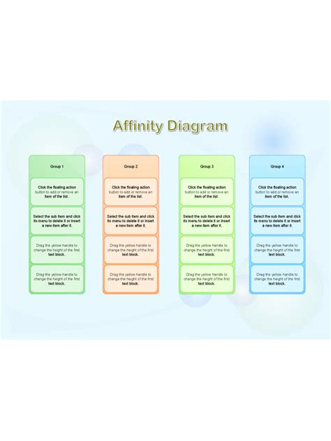 affinity diagram template free affinity diagram template 2 free templates in pdf word