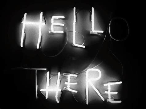 Black And White Hello Gif Find Share On Giphy Hello Lights