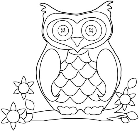 owl printables for kindergarten free preschool fall coloring pages printable free