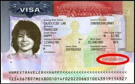 Will I Get H1b Visa If I Do Mba by How To Find My Nonimmigrant Visa Number Quora