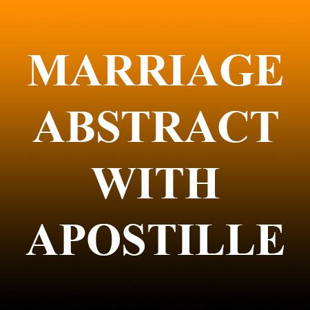 Carson City Divorce Records Marriage Abstract With Apostille Records Nv