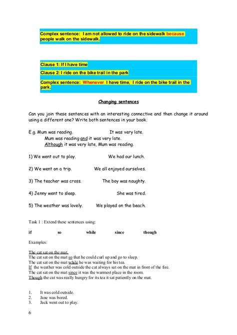 pattern six sentences basic sentence patterns in english