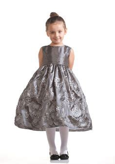 Girls christmas dresses cray916 silver or pewter holiday dress