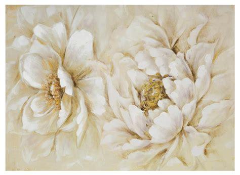 fiori quadro quadro 2 fiori bianchi 77x55 verticale orizzontale 36951