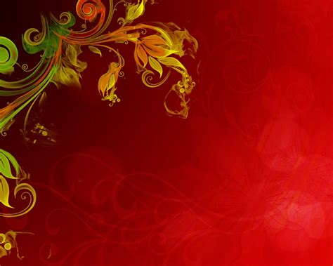 Floral Vector Red Background Hd Wallpapers13 Com Free Flower Powerpoint Template Wallpapers 1280 X 1024