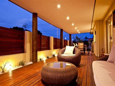 veranda lighting ideas outdoor living design with verandah from a real australian