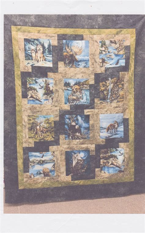 Wildlife Quilt by Fabric American Wildlife Quilt Kit 1446751927